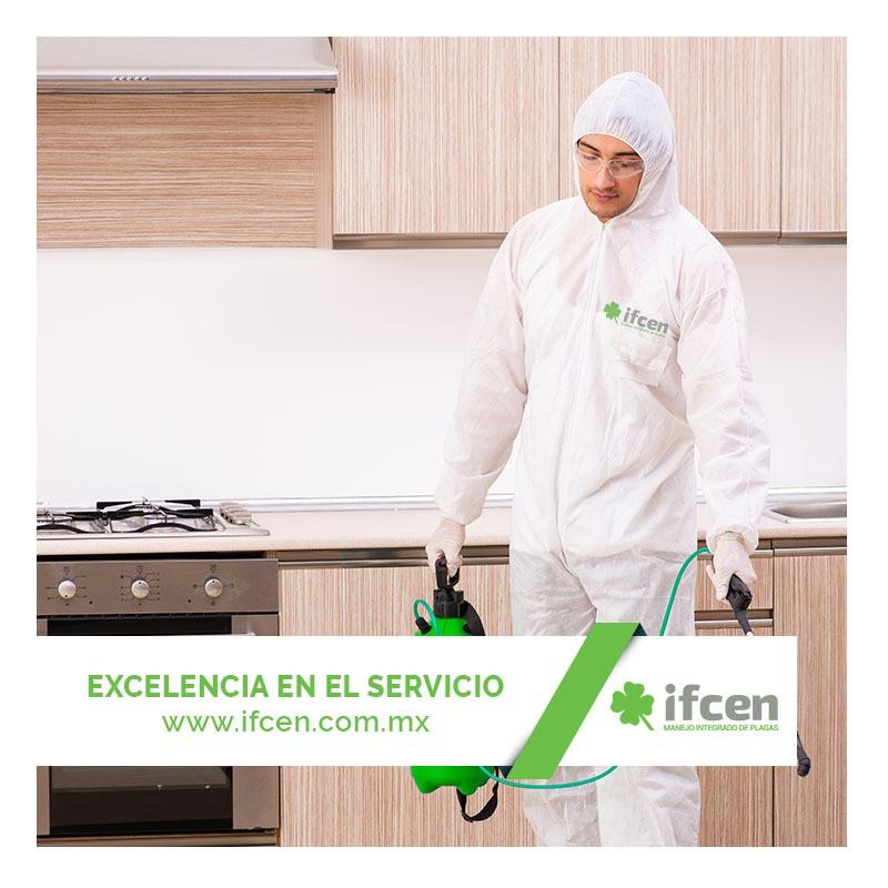 Control de plagas con IFCEN
