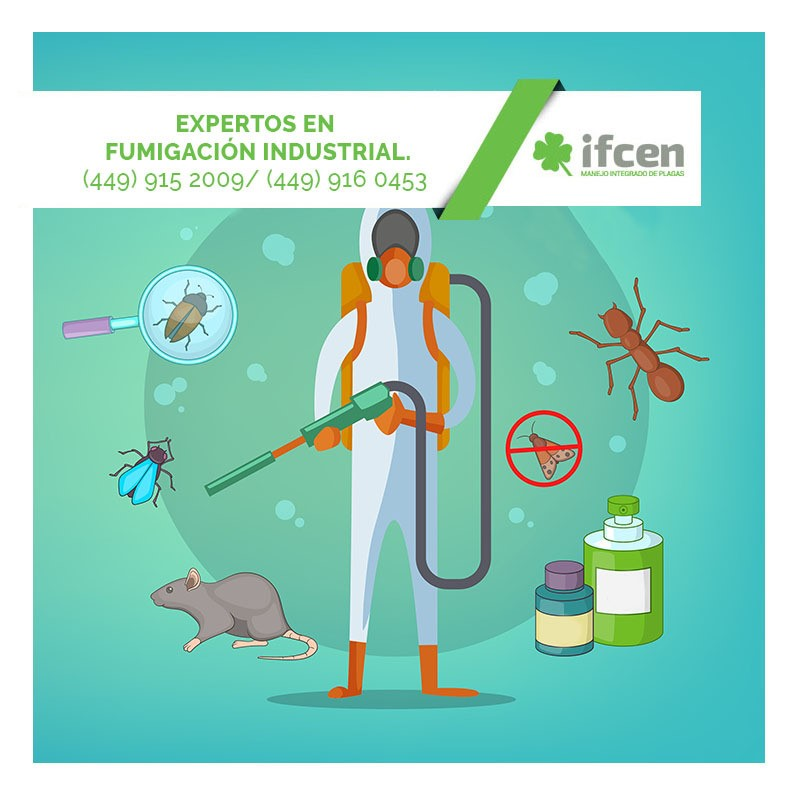 Control de plagas IFCEN