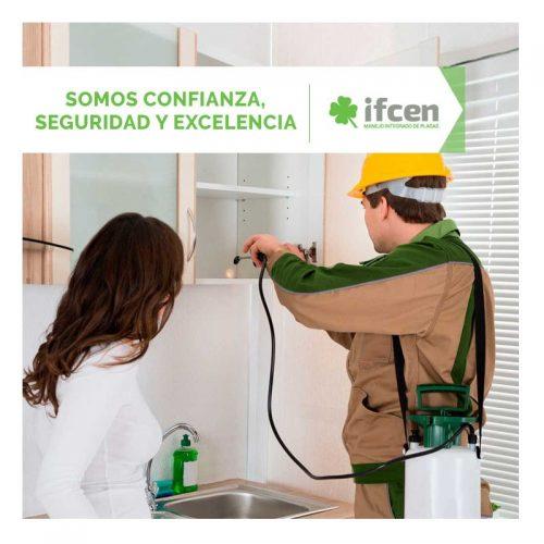 Confianza, seguridad y excelencia con la Fumigación en Aguascalientes de IFCEN
